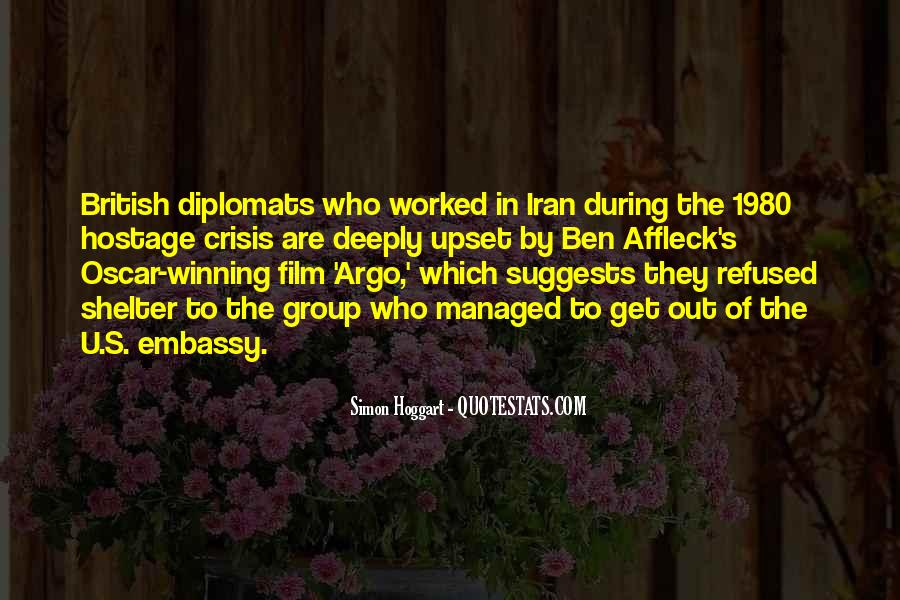 Quotes About Diplomats #619302