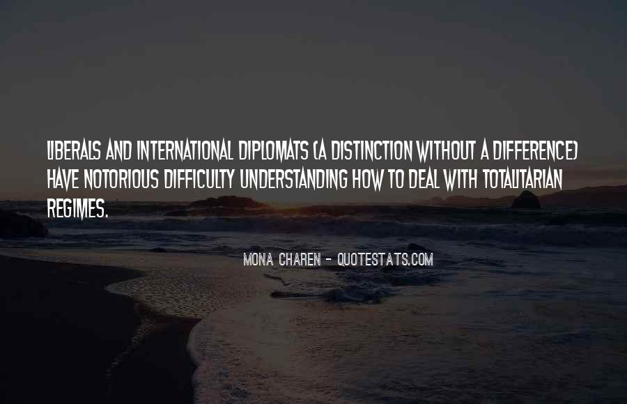Quotes About Diplomats #76001