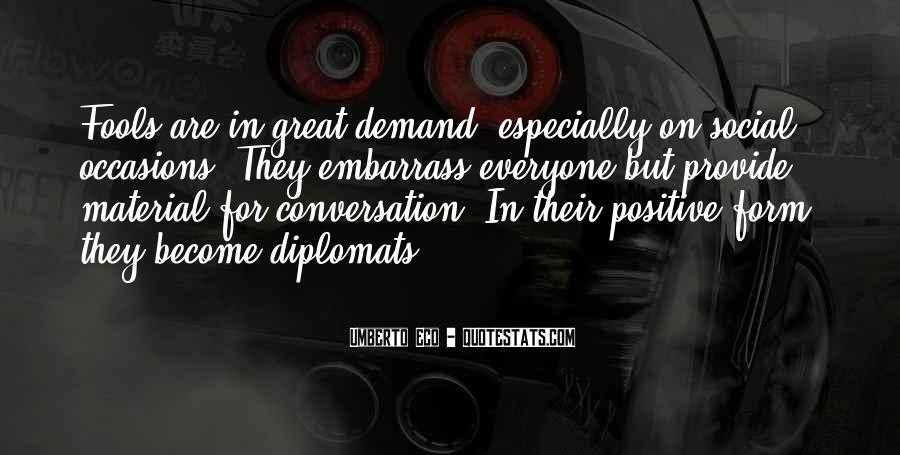 Quotes About Diplomats #841079