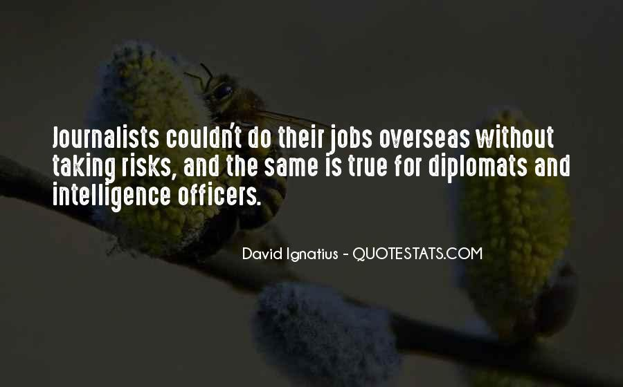 Quotes About Diplomats #883637