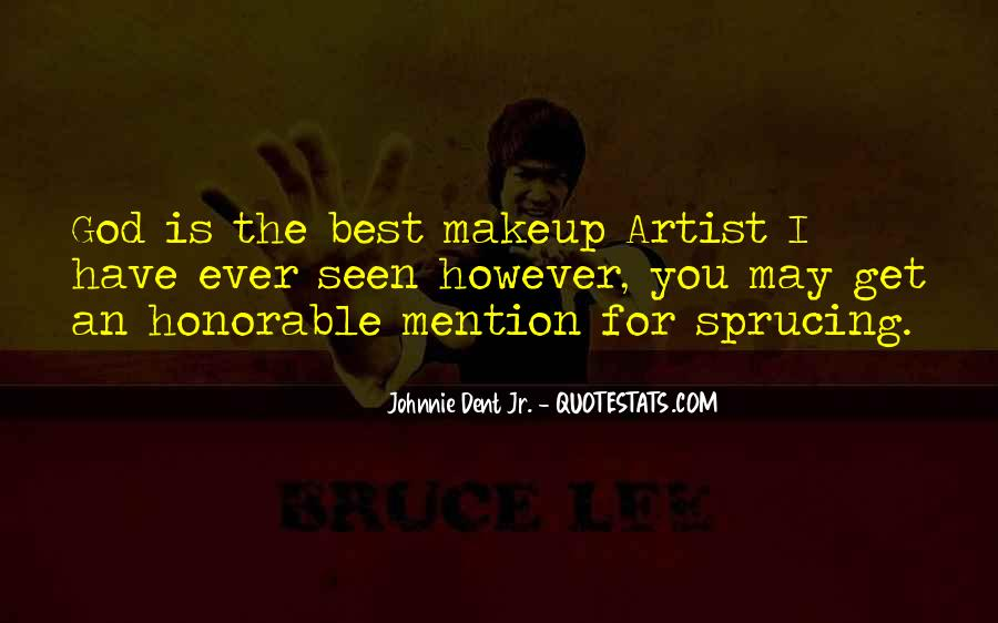 Quotes About Makeup And Life #1319584