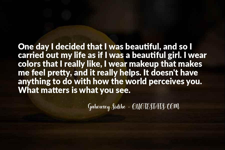Quotes About Makeup And Life #1364453