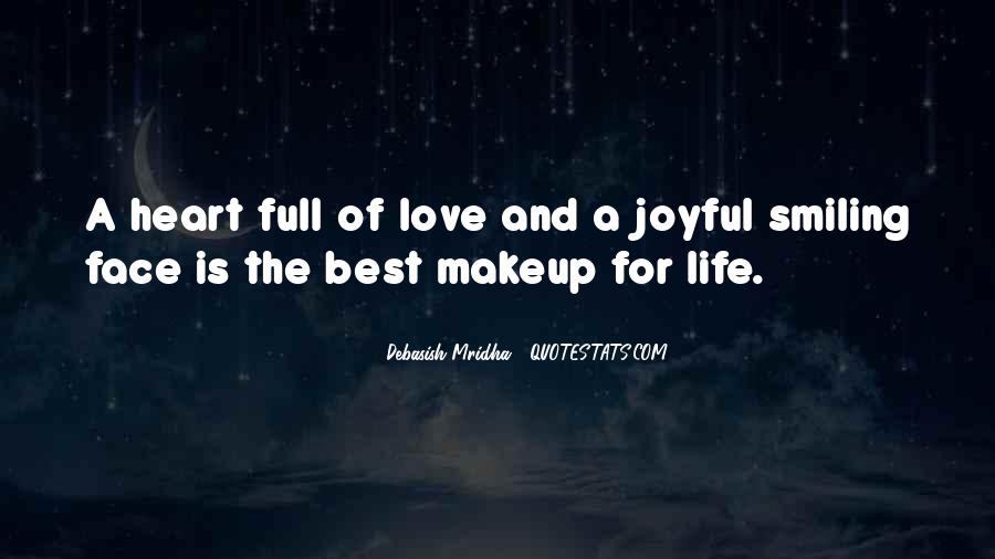 Quotes About Makeup And Life #1689407