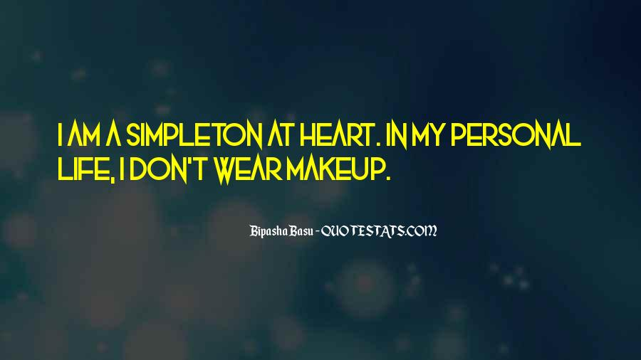 Quotes About Makeup And Life #626482