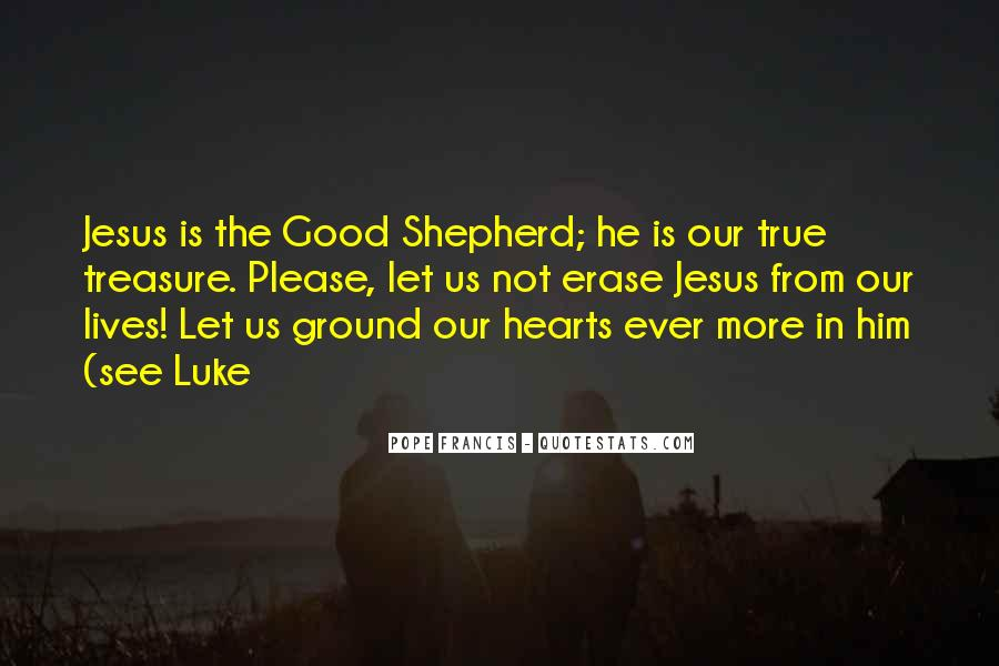 Quotes About Jesus As The Good Shepherd #75103