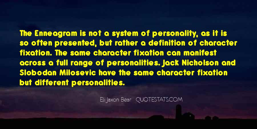 Quotes About Character And Personality #1008747