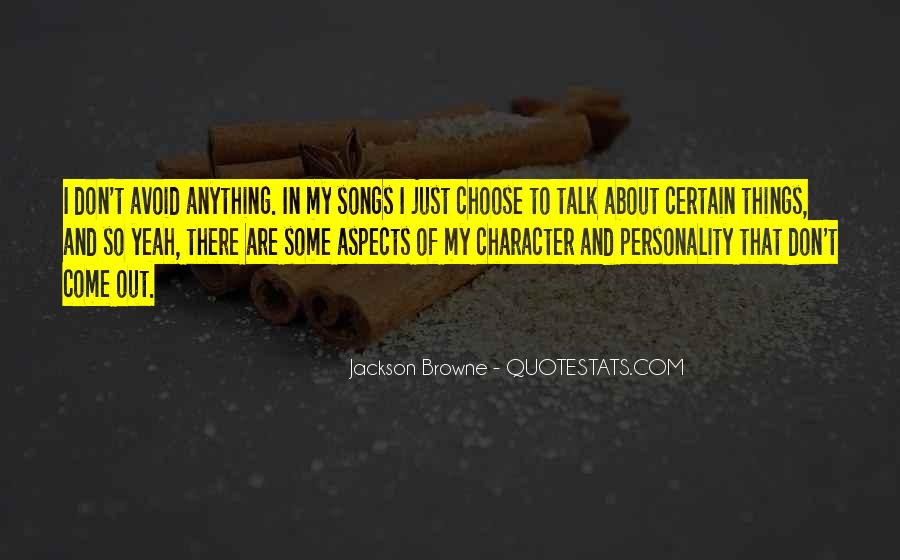 Quotes About Character And Personality #1048333