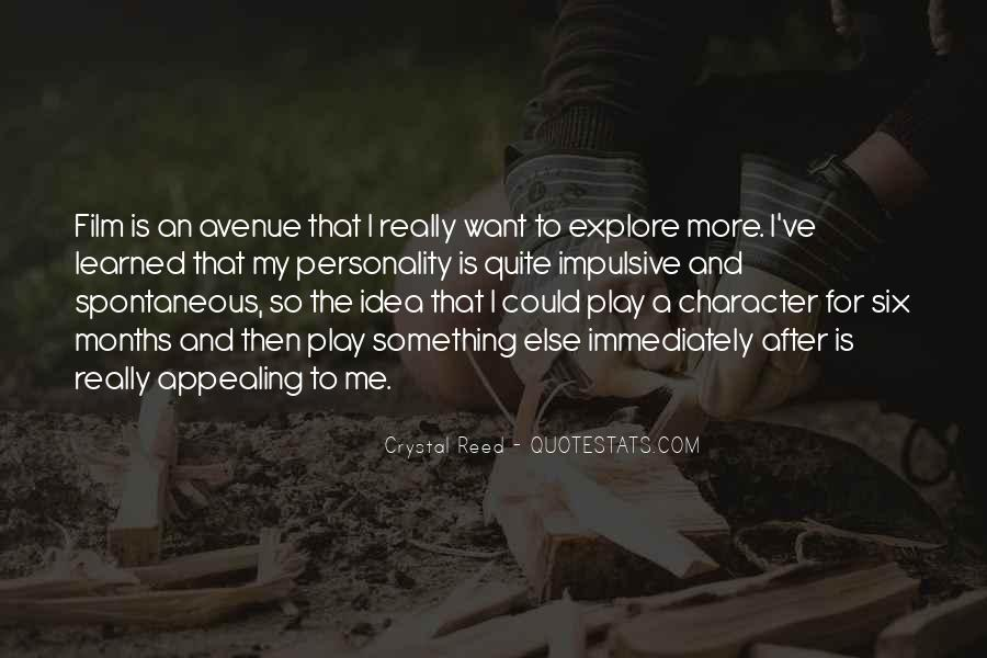Quotes About Character And Personality #1101974
