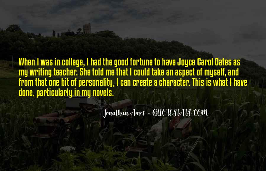 Quotes About Character And Personality #1171497