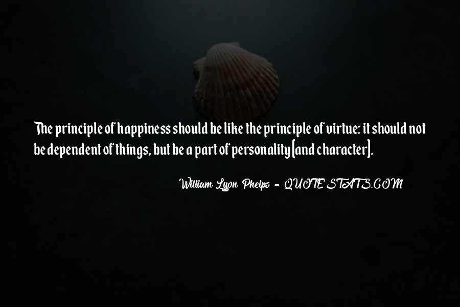 Quotes About Character And Personality #1203334