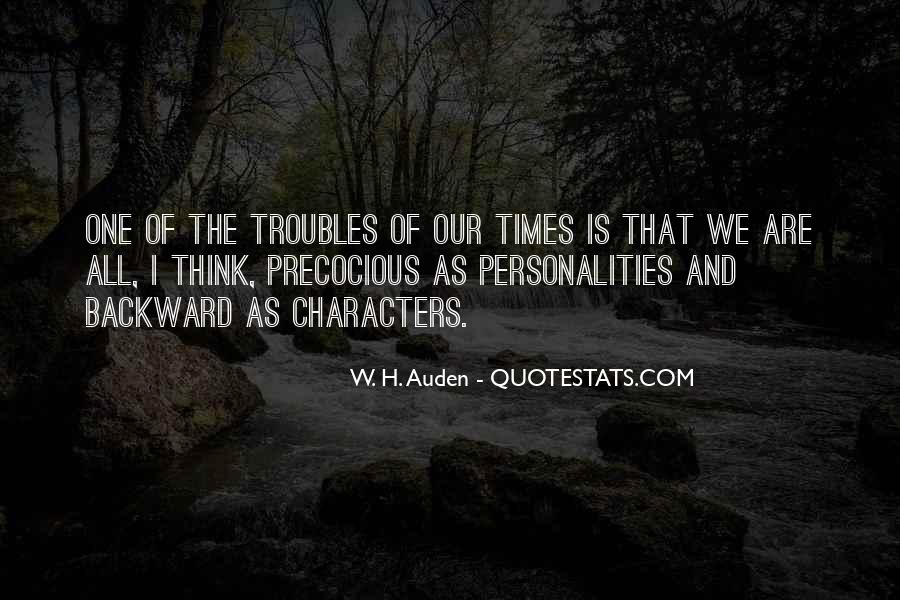 Quotes About Character And Personality #172724