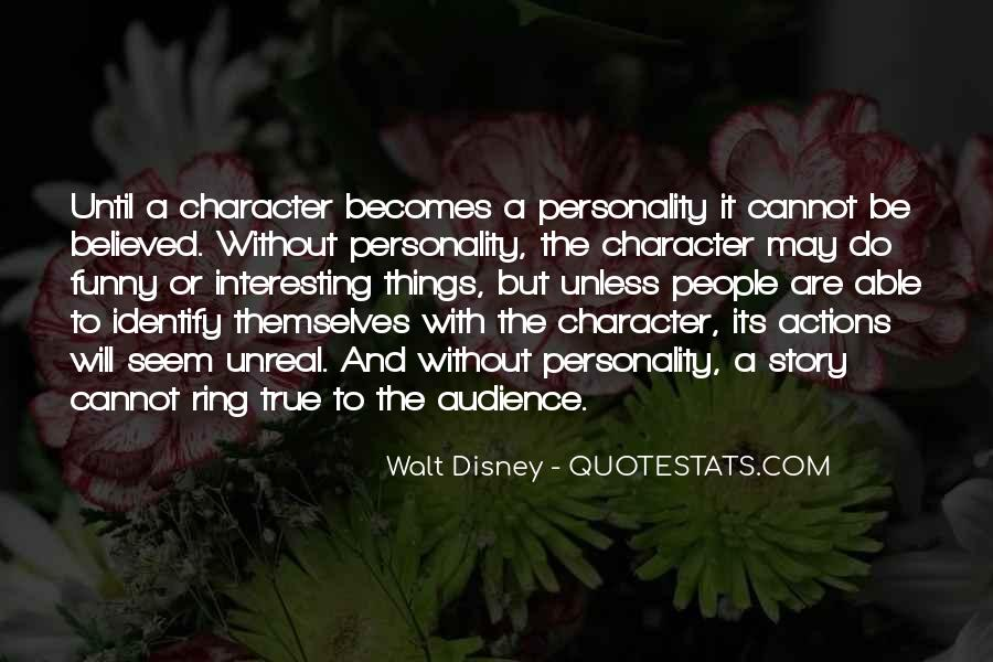 Quotes About Character And Personality #188470