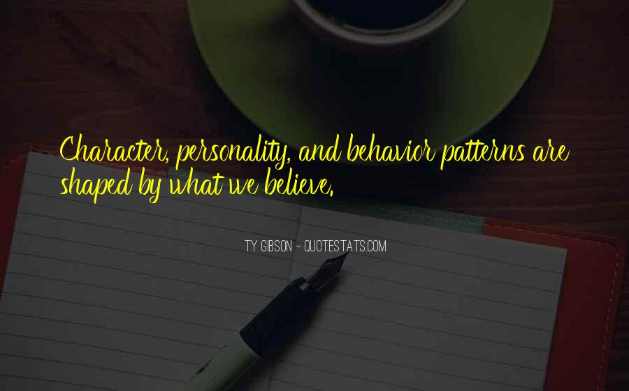 Quotes About Character And Personality #195047