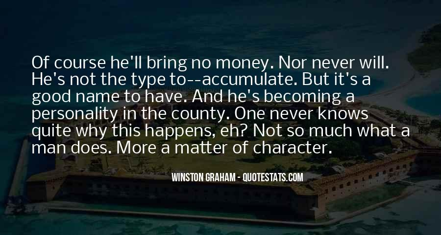 Quotes About Character And Personality #225706
