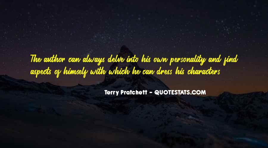 Quotes About Character And Personality #262315