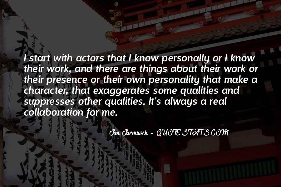 Quotes About Character And Personality #30744