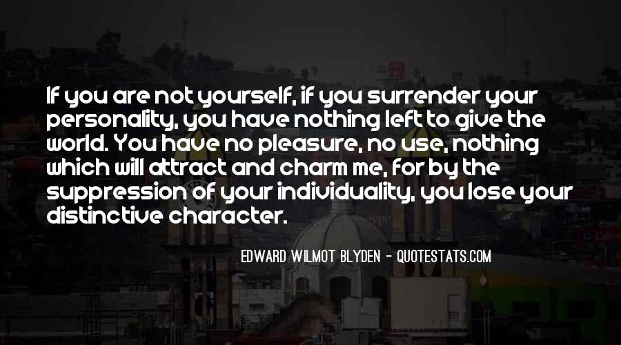 Quotes About Character And Personality #343480
