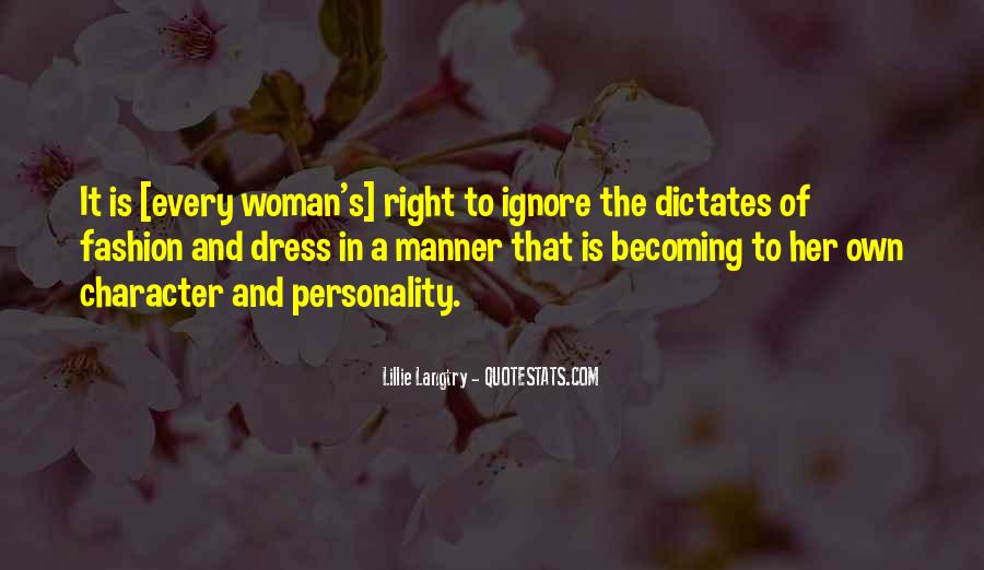 Quotes About Character And Personality #473387