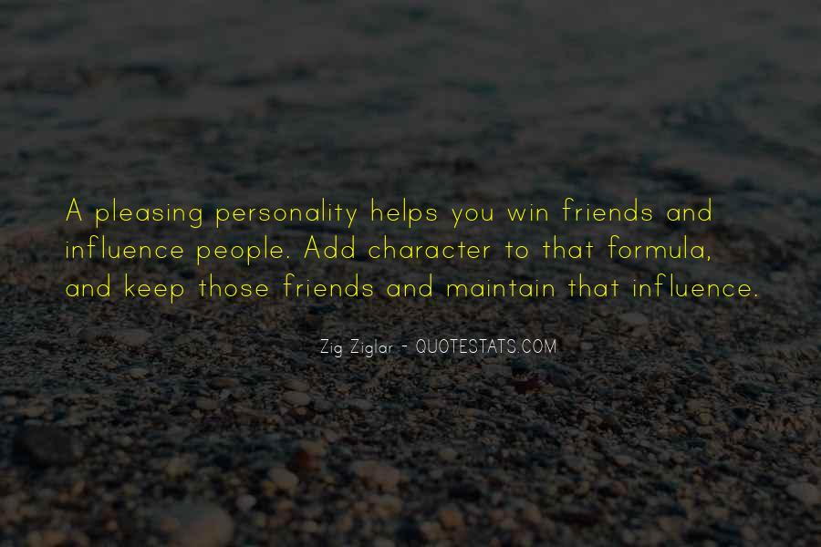 Quotes About Character And Personality #538643