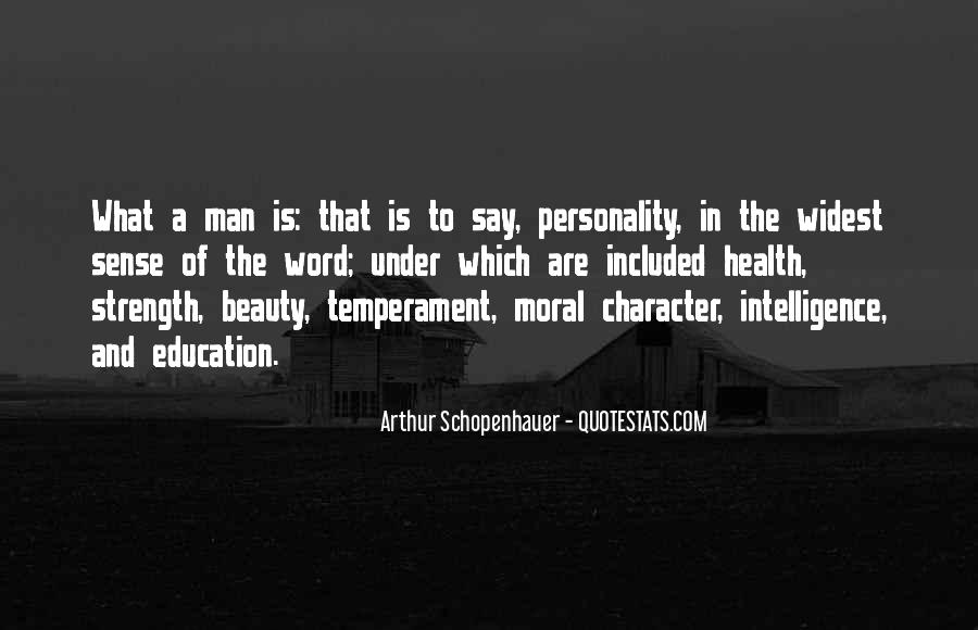 Quotes About Character And Personality #636618