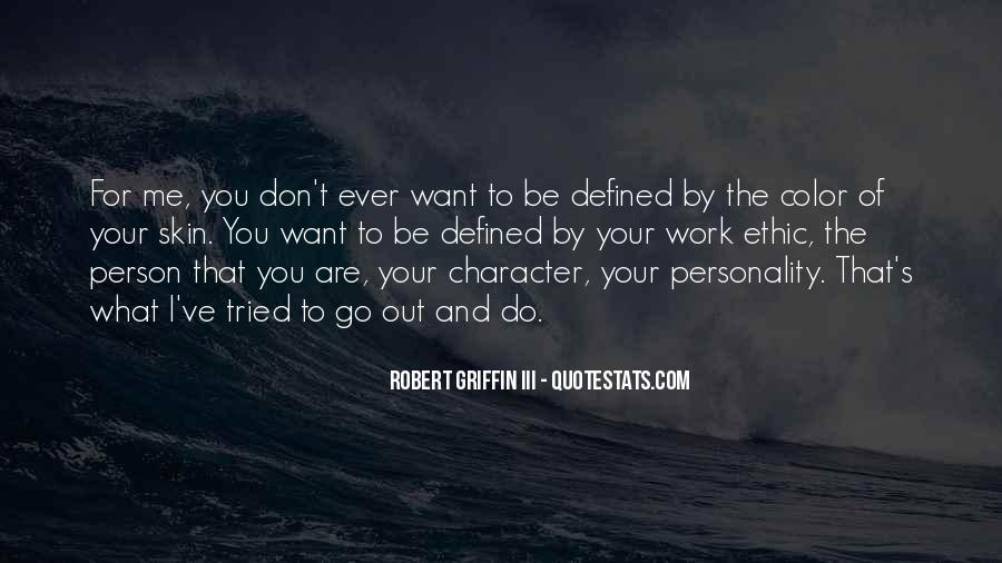 Quotes About Character And Personality #672774