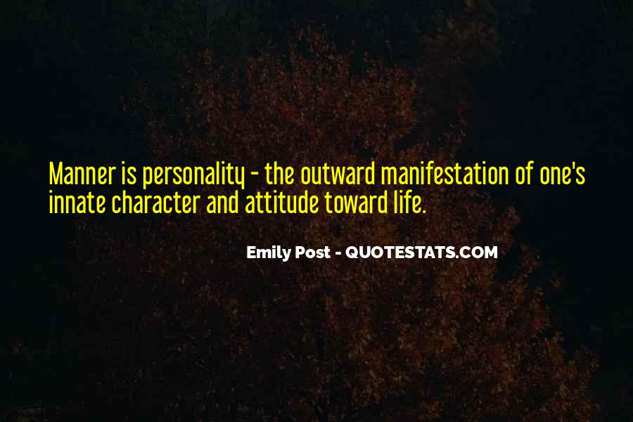 Quotes About Character And Personality #70145
