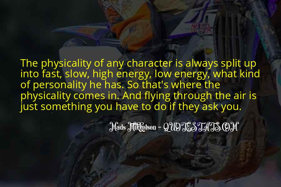 Quotes About Character And Personality #73517