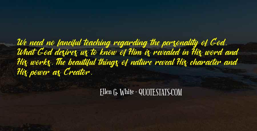 Quotes About Character And Personality #75107