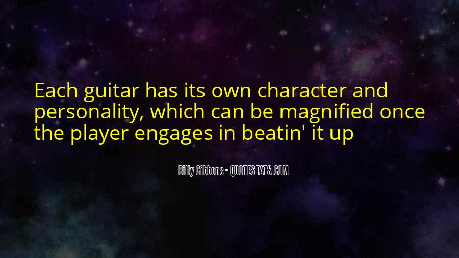 Quotes About Character And Personality #76665