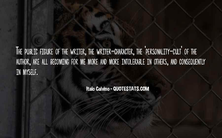 Quotes About Character And Personality #860630
