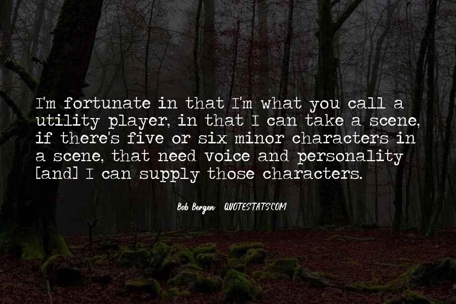 Quotes About Character And Personality #898322