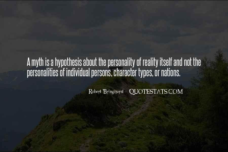 Quotes About Character And Personality #938614