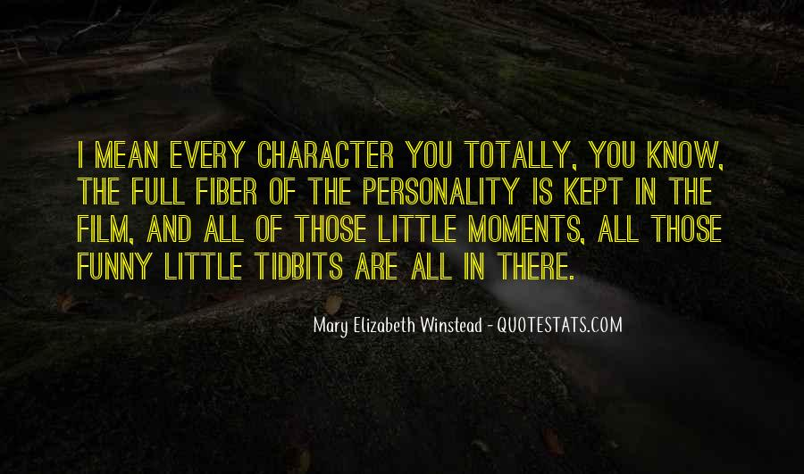 Quotes About Character And Personality #942935