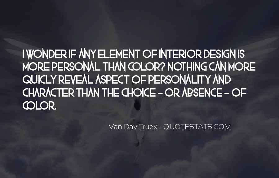 Quotes About Character And Personality #973602