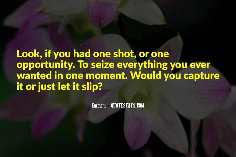 Quotes About One Shot #182366