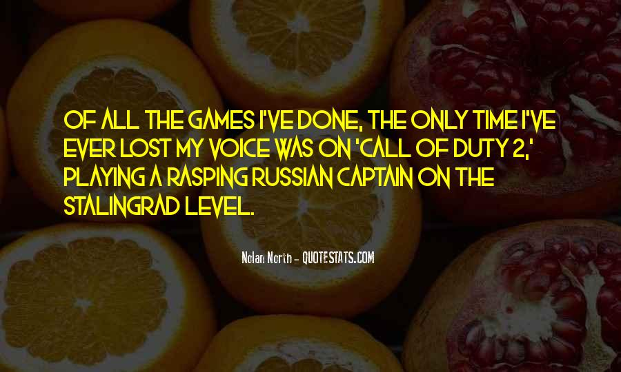 Quotes About Games Playing #215247