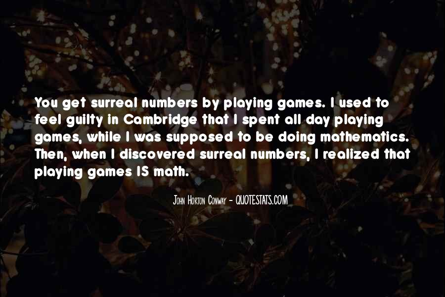 Quotes About Games Playing #342858