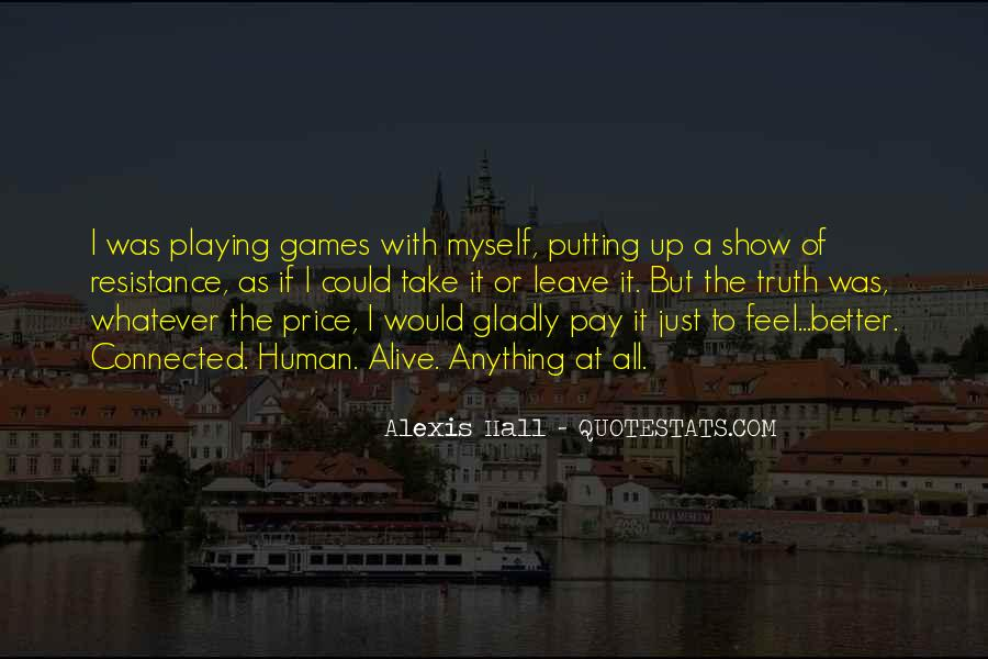 Quotes About Games Playing #392079