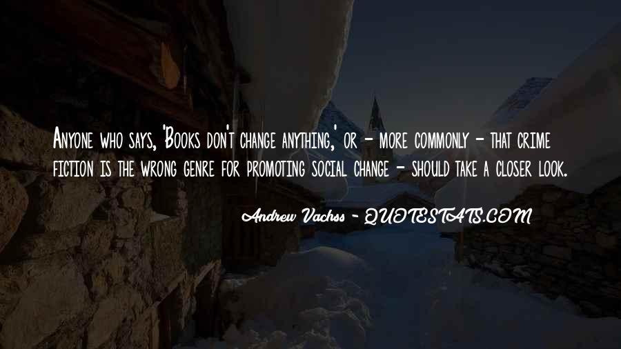 Quotes About Crime Genre #1376288