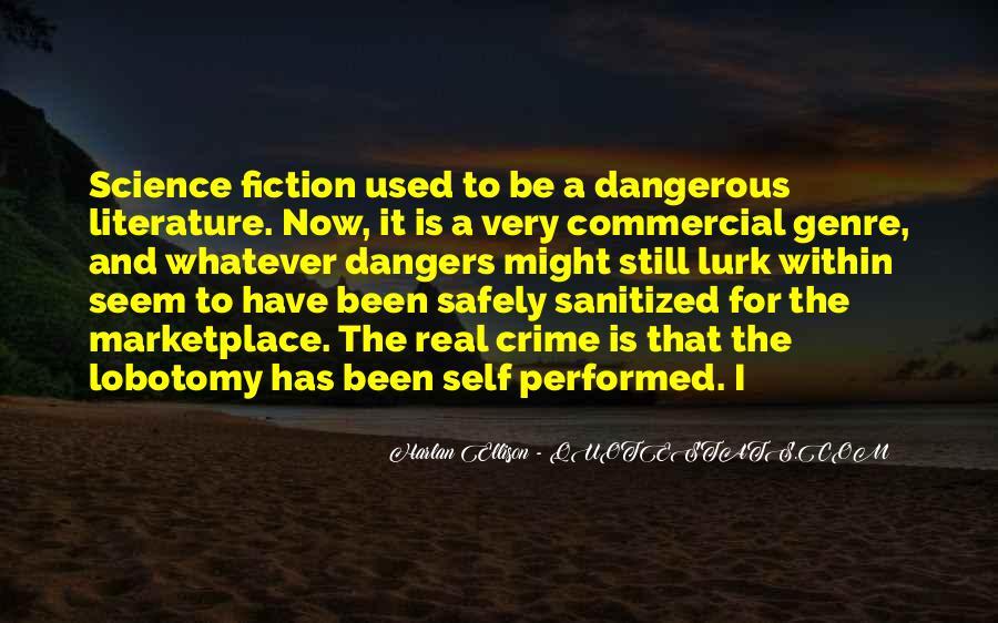 Quotes About Crime Genre #243281