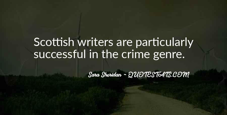 Quotes About Crime Genre #503746