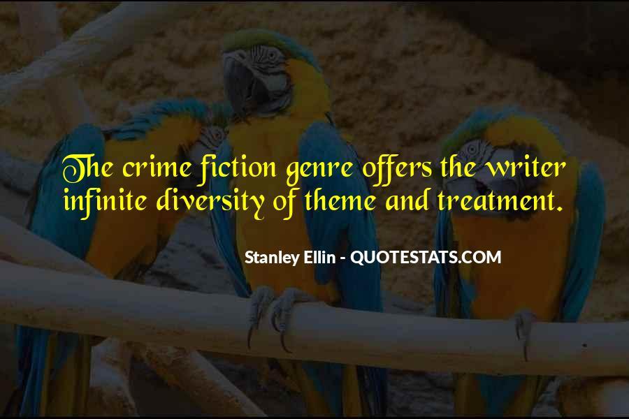 Quotes About Crime Genre #788991