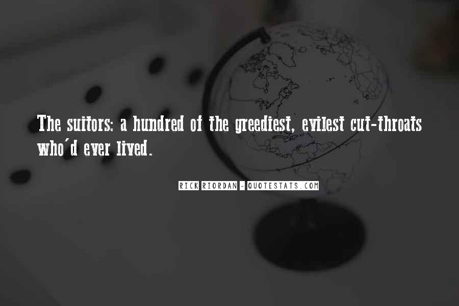 Quotes About Cut Throats #1667869
