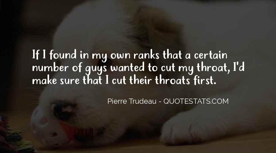 Quotes About Cut Throats #1733191