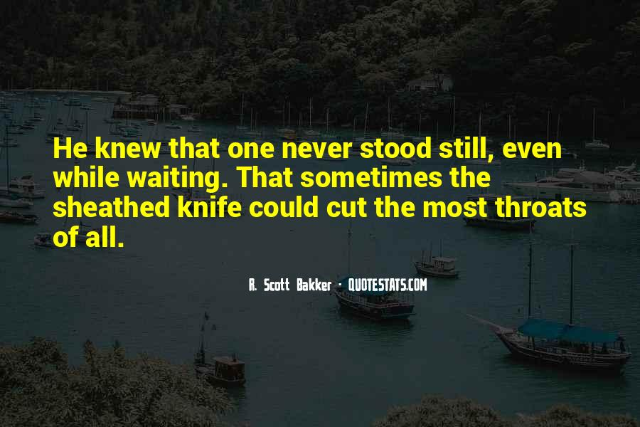 Quotes About Cut Throats #316148