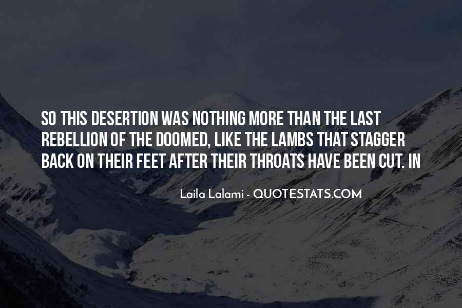 Quotes About Cut Throats #33985