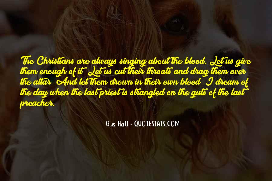 Quotes About Cut Throats #66958