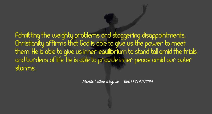 Quotes About Problems And Trials In Life #364690