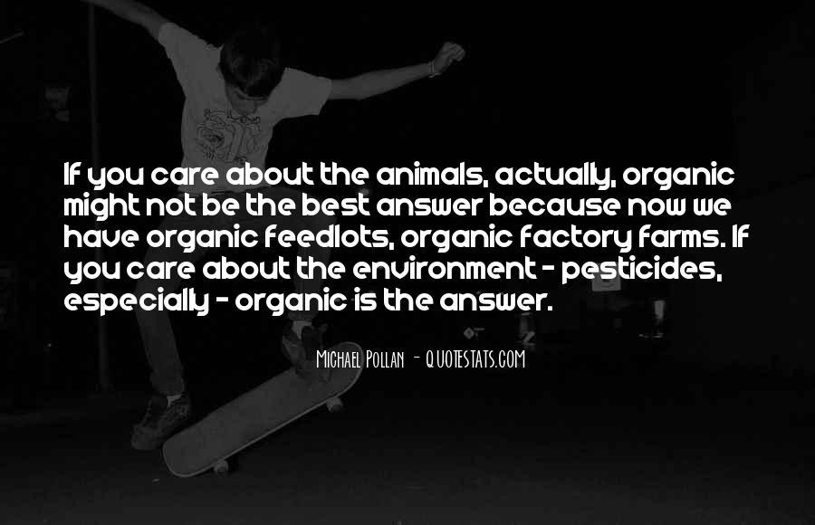 Quotes About Pesticides #1719391