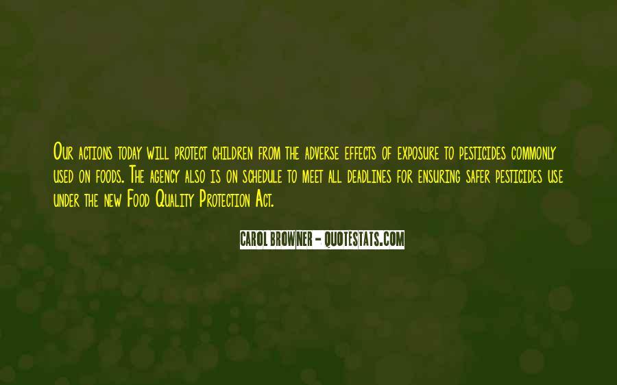 Quotes About Pesticides #26262